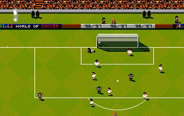 Sensible Soccer celebration