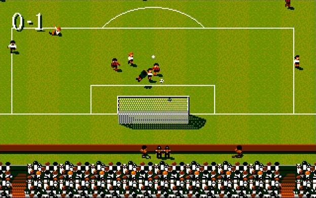 Sensible Soccer goal