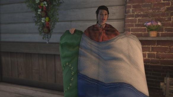 Assassin's Creed III Homestead Flag