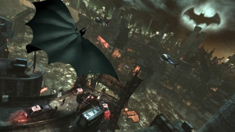 Batman Arkham City Cape Glide