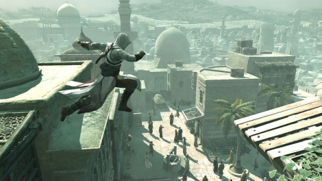 Assassin's Creed Altair Freerunning Parkour Platform Ledge