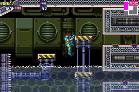 Metroid Fusion Ledge Grab