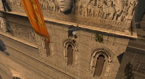 Prince of Persia The Sands of Time Ledge
