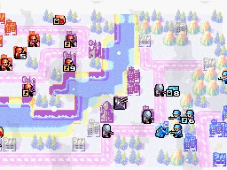 Advance Wars Dual Strike Frozen Fortress