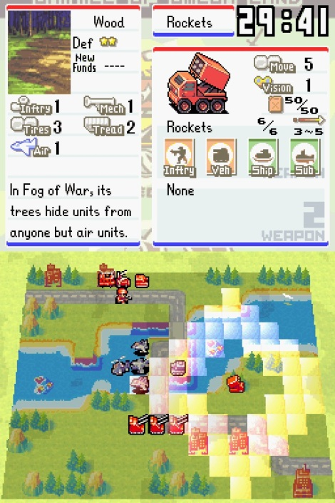 Advance Wars Dual Strike Gameplay