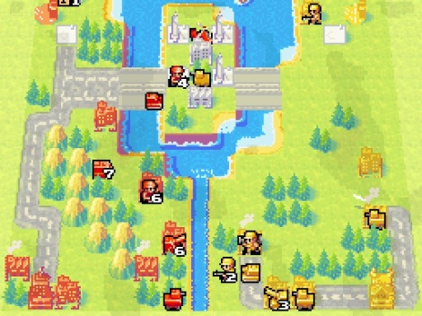 Advance Wars Dual Strike Orange Star Yellow Comet