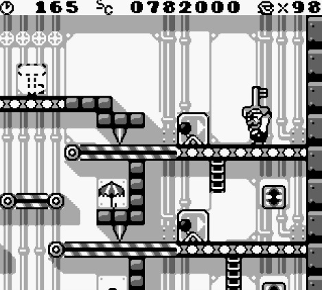 Donkey Kong Mario Key