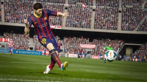 FIFA 15 Lionel Messi Facebook