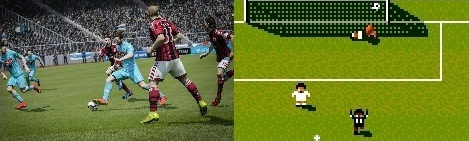 FIFA vs PES vs Sensible Soccer Comparison