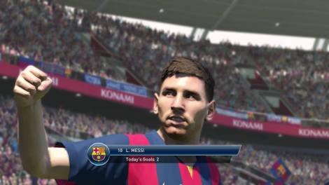 PES 2015 Messi Facebook