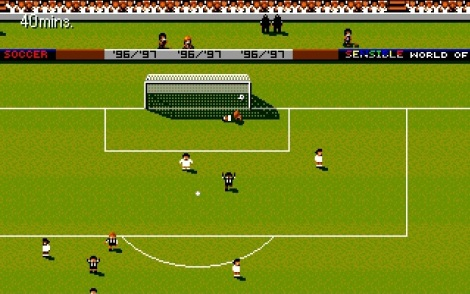 Sensible Soccer Score Goal Celebration
