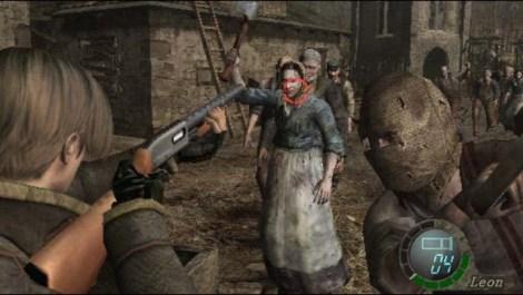 Resident Evil 4 village shotgun