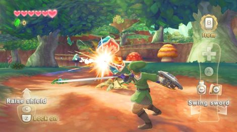 Zelda Skyward Sword Wii MotionPlus