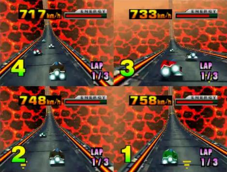 F-Zero X Fire Field
