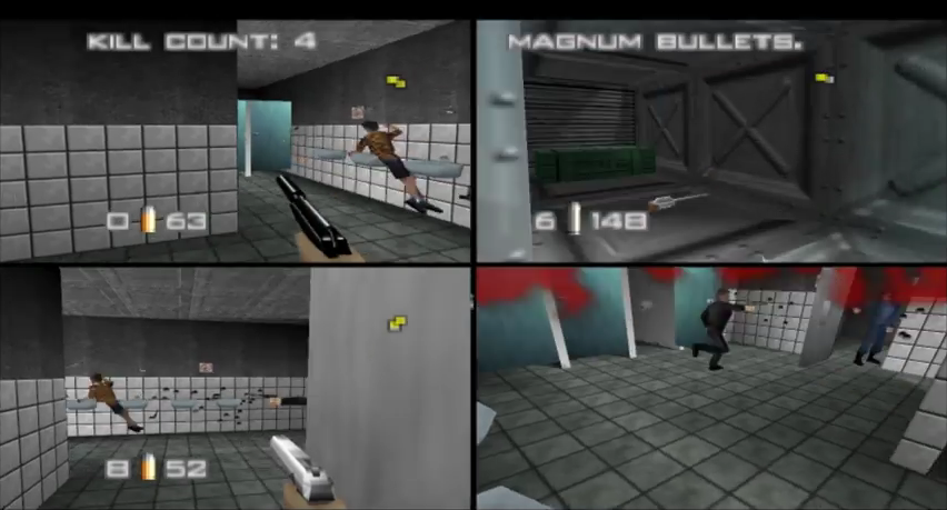 [Análise Retro Game] - 007 contra Goldeneye - Nintendo 64 Goldeneye-facility-multiplayer