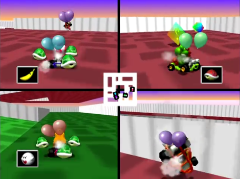 Mario Kart 64 Balloon Battle