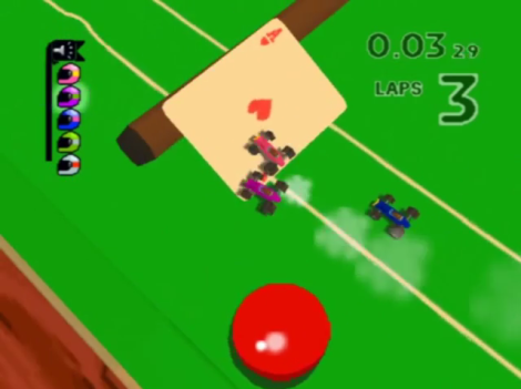 Micro Machines 64 Turbo Pool