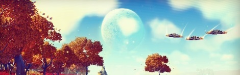 No Man's Sky Trees Ships