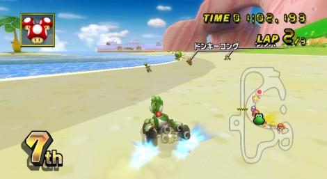 mario-kart-wii-yoshi-gamecube-peach-beach